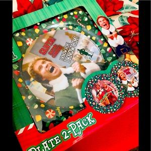 Christmas Elf party plate gift set